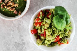 Spinach and Walnut Pesto